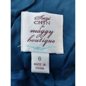 Suzi Chin for Maggy Boutique Dresses - Blue dress size 6